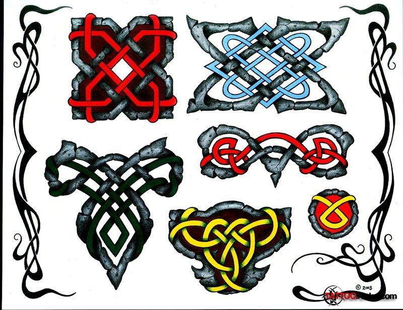 Что значит кельтские узоры 91